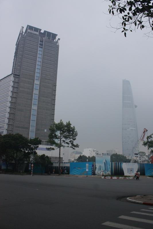 хошимин, город в тумане