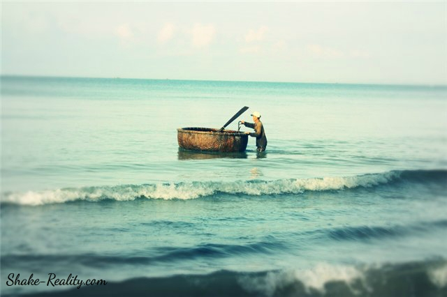 Рыбак во Вьетнаме | фотография Shake-reality.com