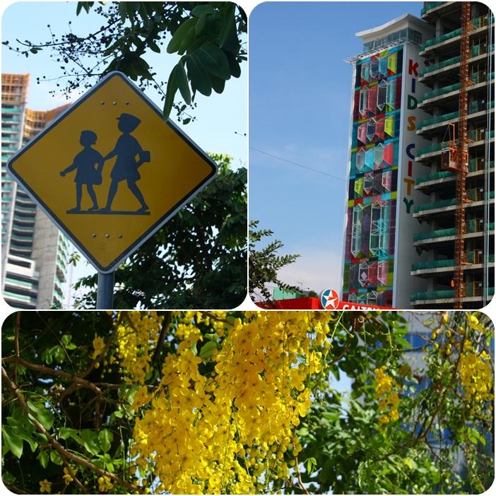 коллаж фотографии Пном Пень