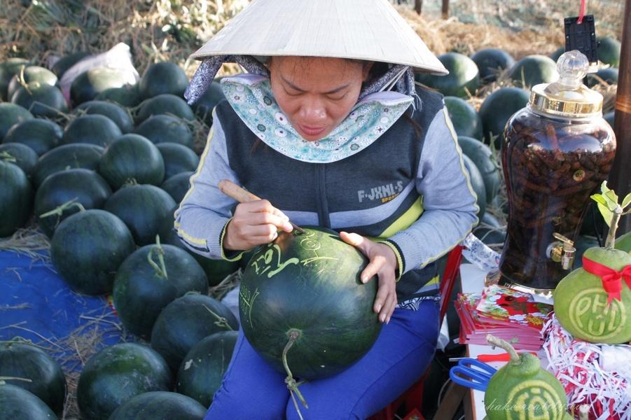 арбузы для тета - вьетнам, фото