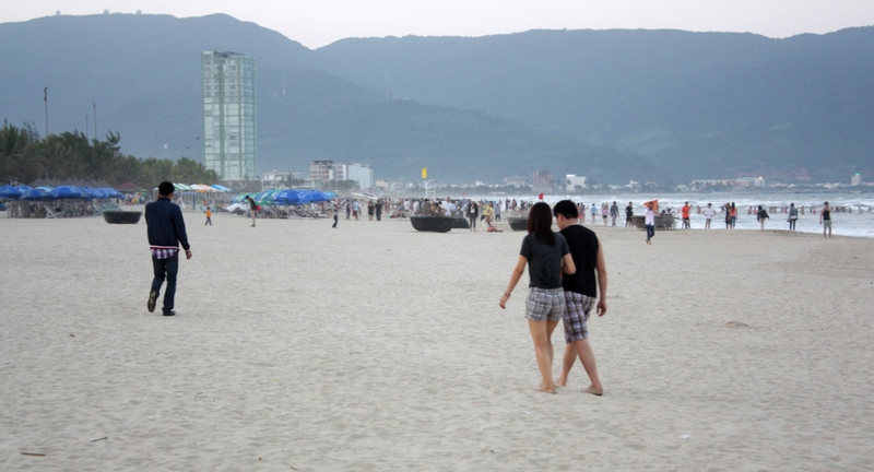 пляж дананга - фото
